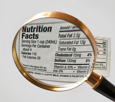 Importanta citirii etichetei în alimentația copiilor