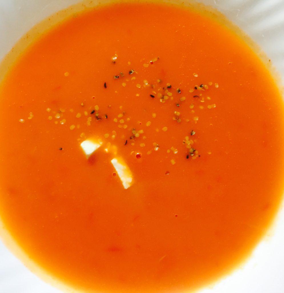 Prima mea supă de roșii